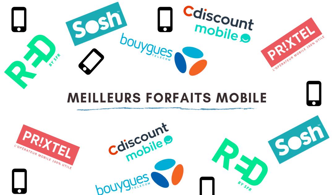 Tops 3 des forfaits mobiles en France